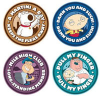 View Item Family Guy Characters Set of 4 Coasters