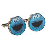 Sesame Street Cookie Monster Cufflinks