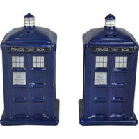 Official TARDIS Salt & Pepper Pots