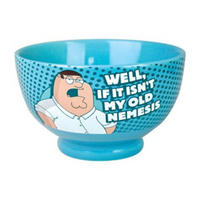 View Item Family Guy Peter Vs Chicken Stoneware Bowl