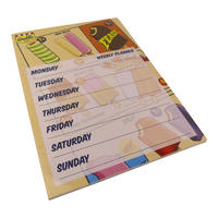 Wall's Classic Lollies A4 Weekly Planner
