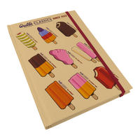 Wall's Classic Lollies A5 Hardback Notebook