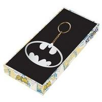 Batman Logo Thick Metal Boxed Keyring