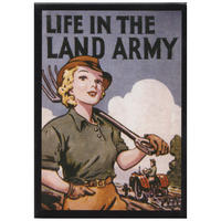 Life In The Land Army Fridge Magnet