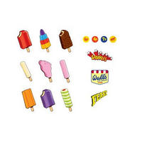 Wall's Lollies 16 Piece Magnet Set