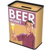 Beer Money Tin Money Box