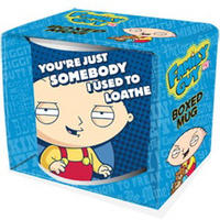 "View Item Family Guy's Stewie ""You're Just Somebody I Used To Loathe"" Mug"