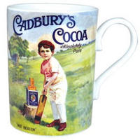 Cadbury's Boy Cricketer Fine Bone China Mug