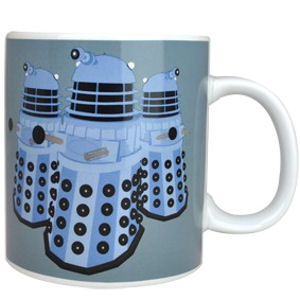 NEW DOCTOR WHO DALEKS EXTERMINATE GIANT 750ML MUG BOXED GIFT NOVELTY DR OFFICIAL