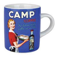 "Camp Coffee ""The Labour Saving Coffee"" Mini Espresso Mug"