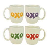 Set of 2 OXO Stoneware Mugs