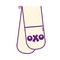 Purple OXO Logo Double Oven Glove