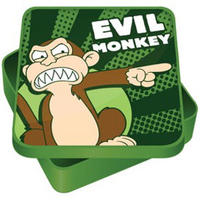 View Item Family Guy's Evil Monkey Square Sandwich Tin