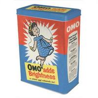 "OMO ""Adds Brightness"" Washing Powder Tin"