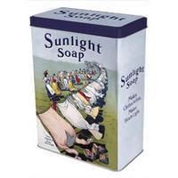 "Sunlight Soap ""Washing LIne"" Washing Powder Tin"