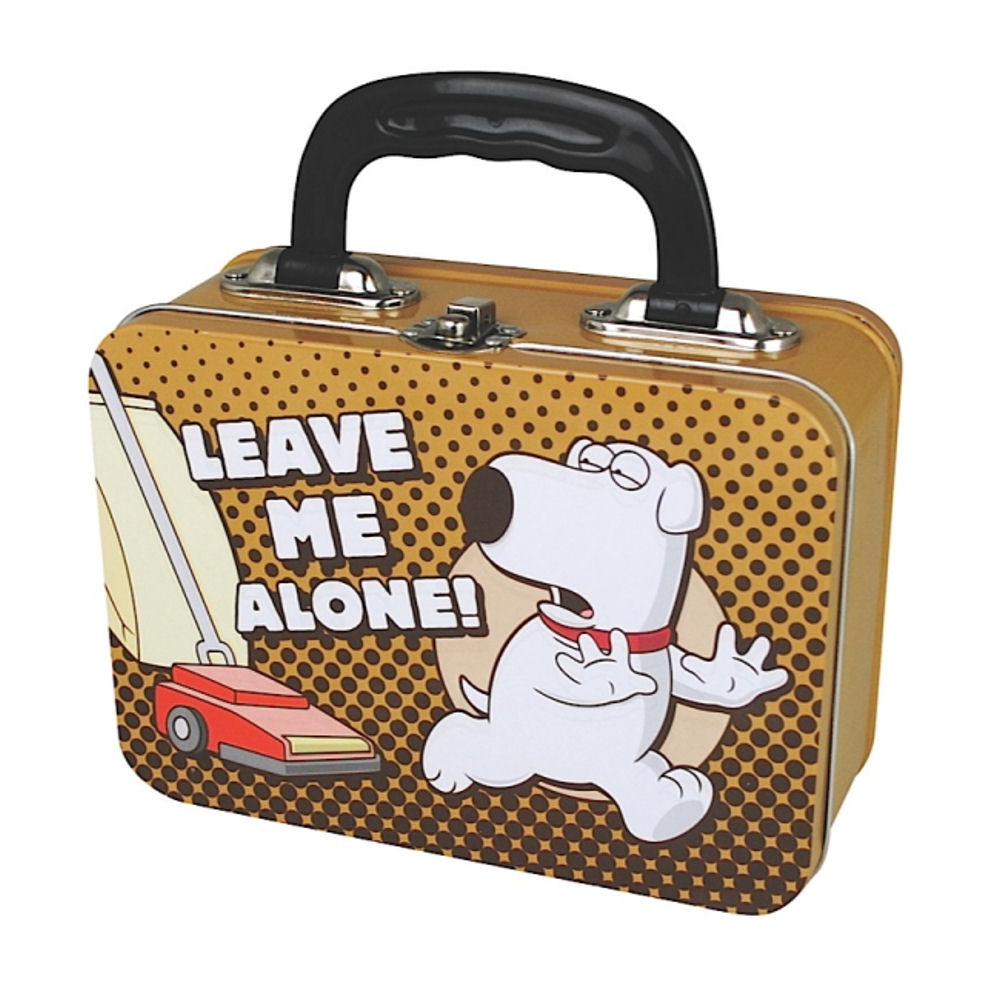 "Family Guy's Brian ""Leave Me Alone"" Tin Tote"