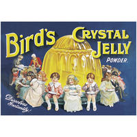 Bird's Crystal Jelly Powder Postcard
