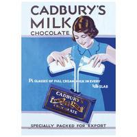 Cadbury's Dairy Milk Chocolate Postcard