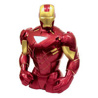 "8"" Iron Man Resin Bust Money Box"