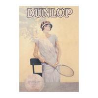 Dunlop Tennis Equipment Postcard
