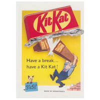 "Kit Kat ""Have A Break"" Postcard"