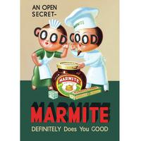 Marmite Definitely Does You Good Postcard