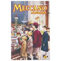 Meccano Magazine (Toyshop Window) Postcard