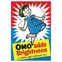 OMO Adds Brightness To Whites And Coloureds Too Postcard