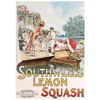 Southwell's Lemon Squash Postcard