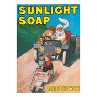 "Sunlight Soap ""Leads The Way!"" Postcard"