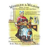 Wheeler & Wilson High Class Sewing Machines Are The Best Postcard