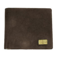 Brown Union Jack Leather Wallet