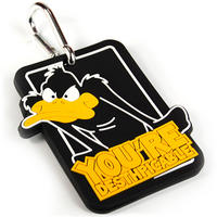 "Daffy Duck ""You're Desthpicable"" Luggage Tag"