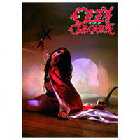 Ozzy Osbourne Blizzard Of Oz Postcard