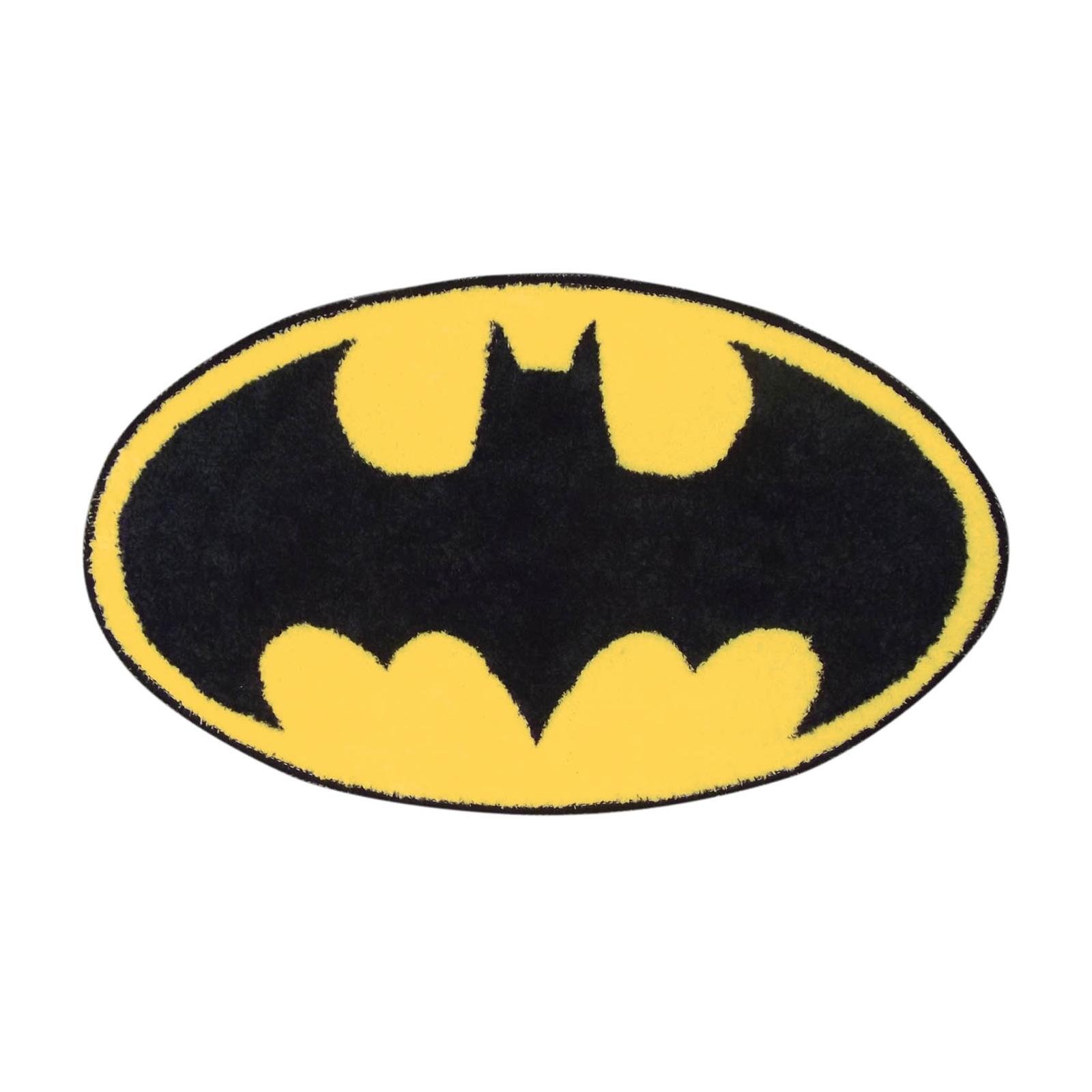 Batman Bathroom Sign: NEW BATMAN LOGO BATHROOM MAT NON SLIP WASHABLE SHOWER