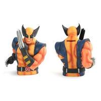 "7"" Wolverine Resin Bust Money Box"
