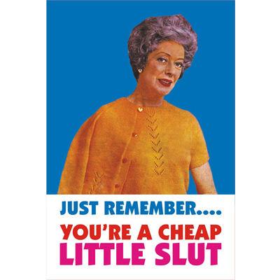 Item Details - Just Remember... You're A Cheap Little Slut Fridge ...