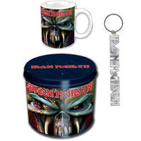 View Item Iron Maiden The Final Frontier Mug & Keyring In A Tin Gift Set