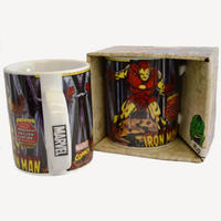 "Iron Man ""Up Close"" Mug"