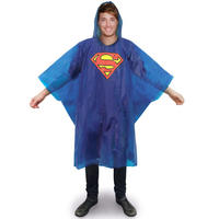 Superman Logo Waterproof Poncho