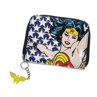 Wonder Woman Stars Zipped Purse