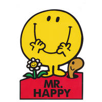Mr Happy Shaped Greeting Card