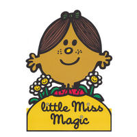 Little Miss Magic Greeting Card