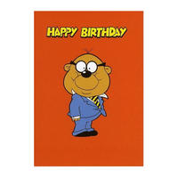 Penfold Standing Happy Birthday Greeting Card