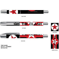 The Clash Stars & Stripes Gel Pen