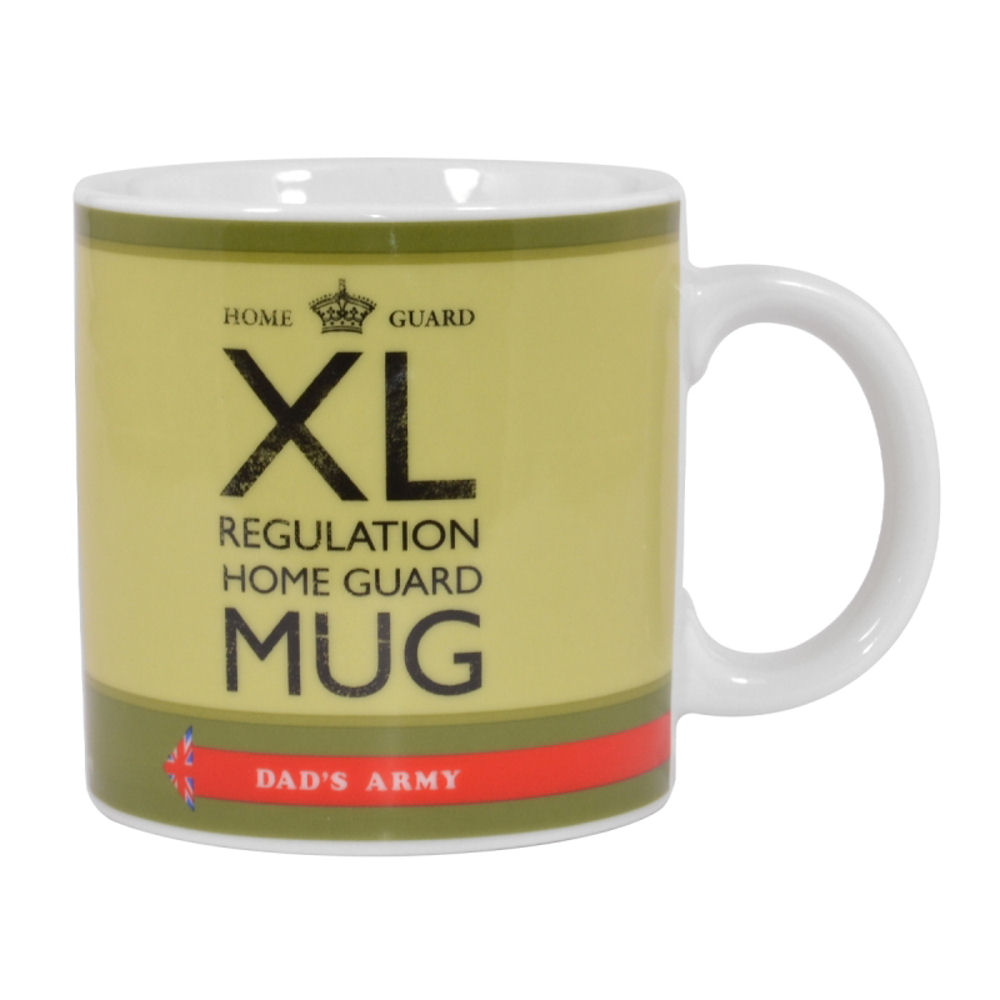 Dad's Army XL Regulation Home Guard Giant Mug