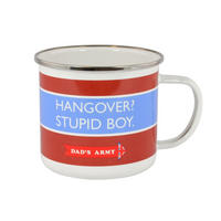 Dad's Army Hangover? Stupid Boy! Enamel Mug Thumbnail 1