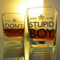 Set of 2 Dad's Army Whiskey Glasses Thumbnail 3