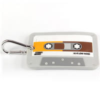 Audio Cassette Tape Luggage Tag