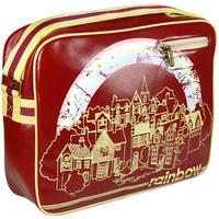 Vintage Style Rainbow Shoulder Bag